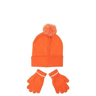 Alternate view of Nickelodeon Splat Beanie Set - Little Kid - Orange