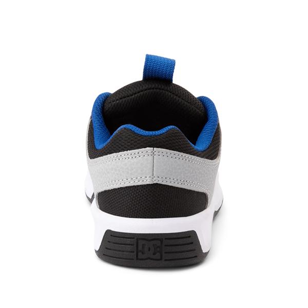 alternate view DC Lynx Zero Skate Shoe - Little Kid / Big Kid - Black / Gray / Royal BlueALT4