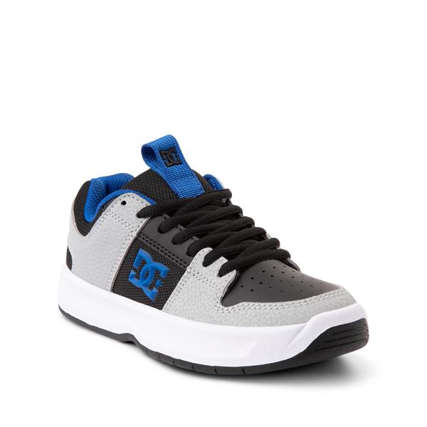alternate view DC Lynx Zero Skate Shoe - Little Kid / Big Kid - Black / Gray / Royal BlueALT5