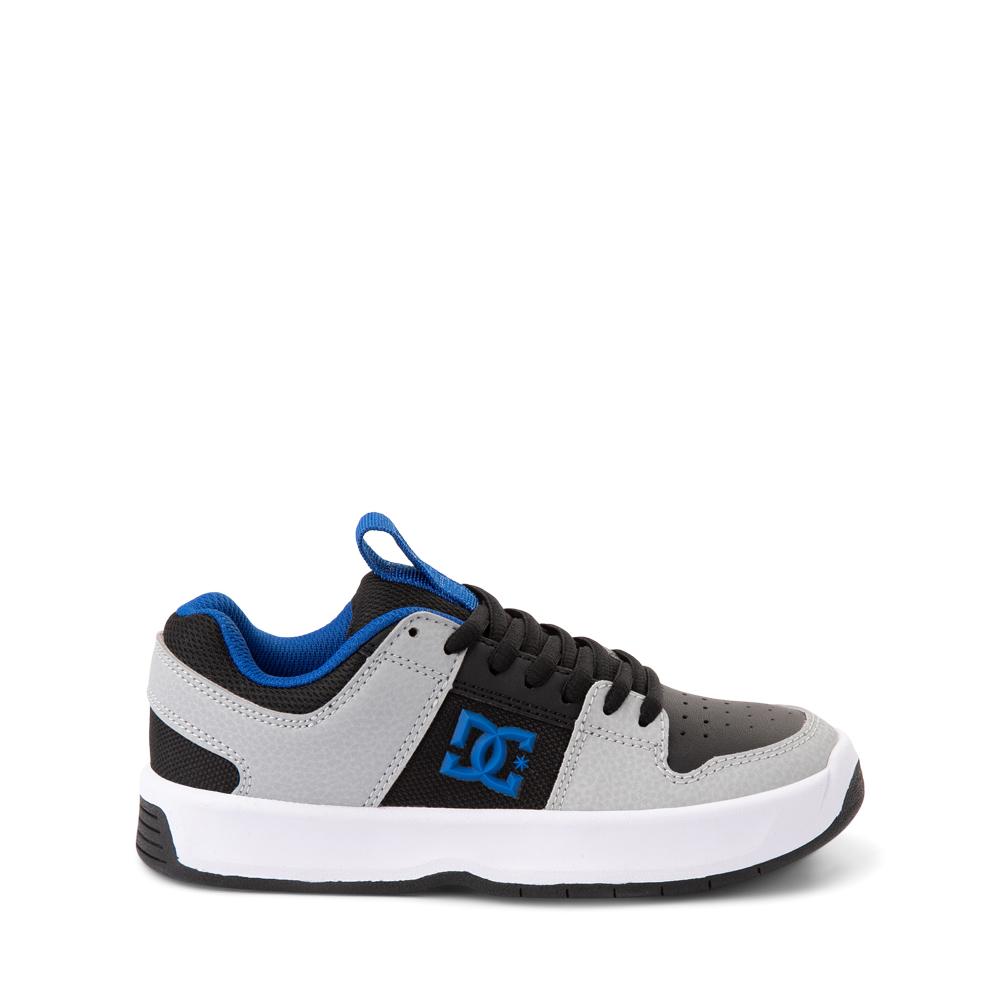 DC Lynx Zero Skate Shoe - Little Kid / Big Kid - Black / Gray / Royal Blue