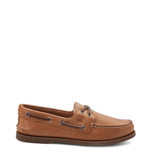 Main view of Mens Sperry Top-Sider Authentic Original Boat Shoe - Tan