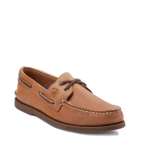 alternate view Mens Sperry Top-Sider Authentic Original Boat Shoe - TanALT1