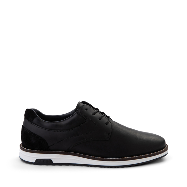 Main view of Mens Crevo Decker Casual Shoe - Black
