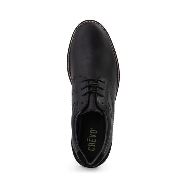 alternate view Mens Crevo Decker Casual Shoe - BlackALT2