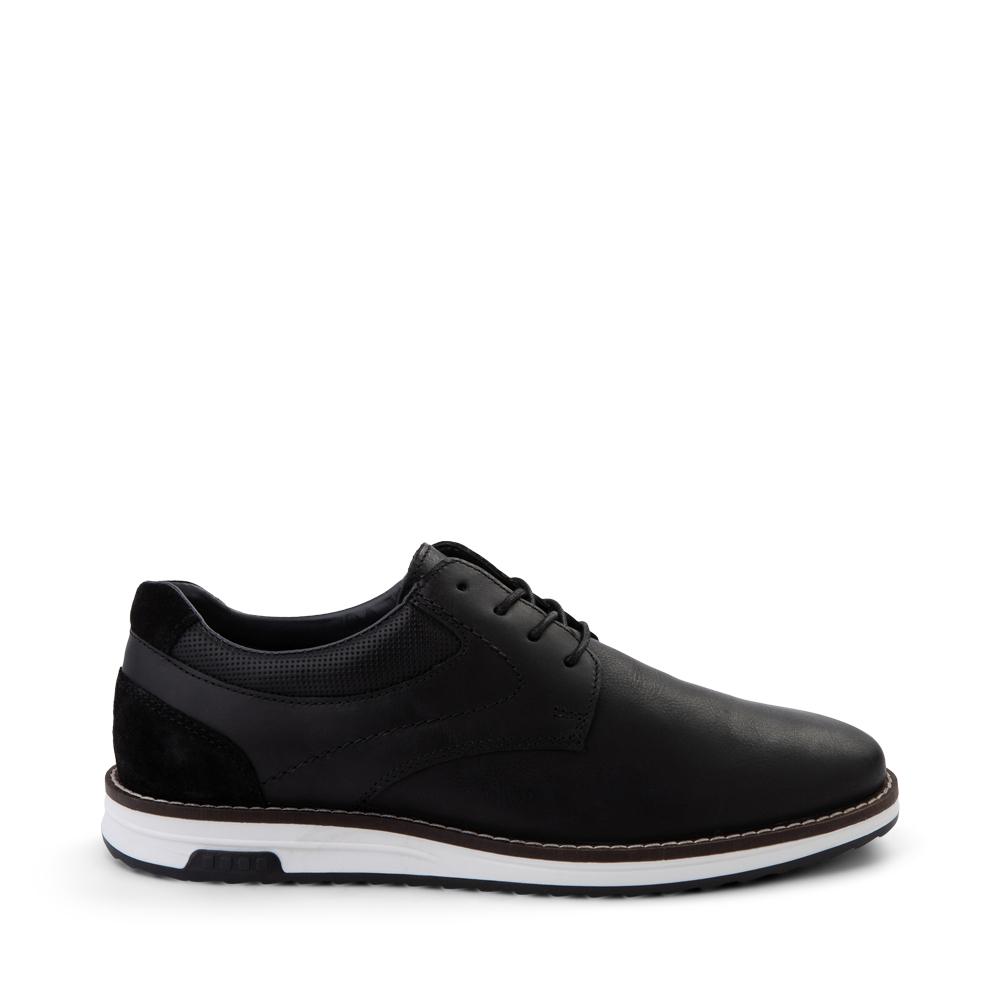 Mens Crevo Decker Casual Shoe - Black