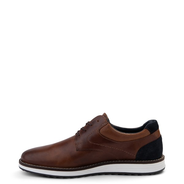 alternate view Mens Crevo Decker Casual Shoe - ChestnutALT1