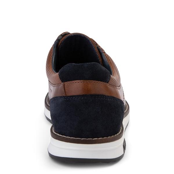 alternate view Mens Crevo Decker Casual Shoe - ChestnutALT4
