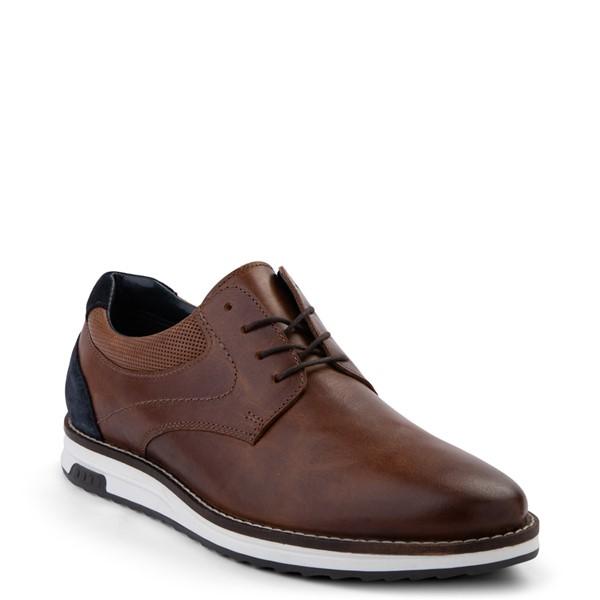 alternate view Mens Crevo Decker Casual Shoe - ChestnutALT5