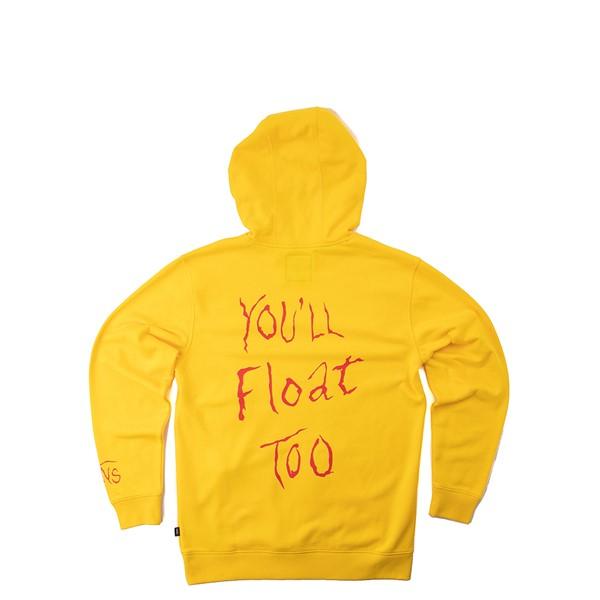 alternate view Mens Vans x Horror Vans It Hoodie - YellowALT1