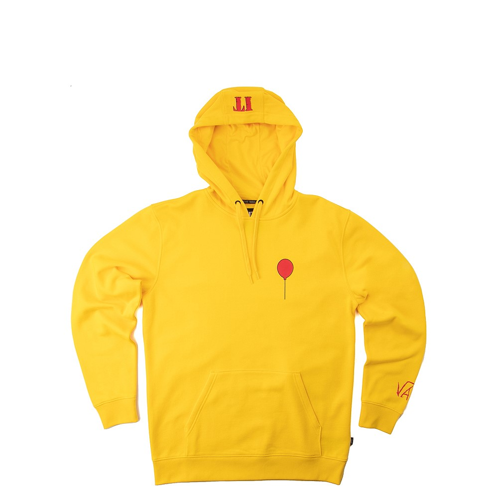 Mens Vans x Horror Vans It Hoodie - Yellow