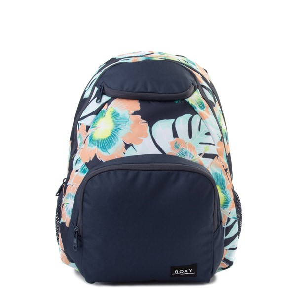 Main view of Womens Roxy Shadow Swell Backpack - Navy / Floral