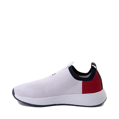 Alternate view of Womens Tommy Hilfiger Aliah Slip On Athletic Shoe - White