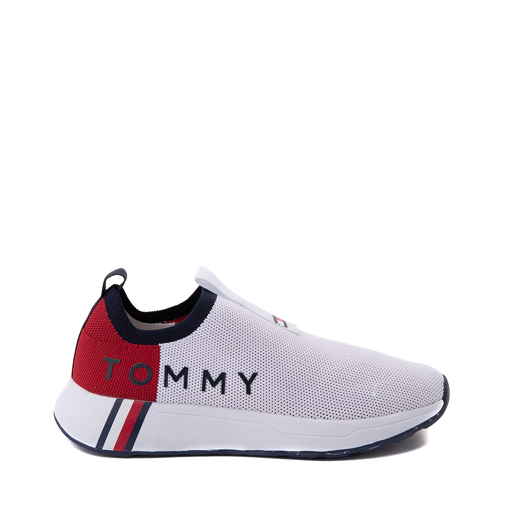 Womens Tommy Hilfiger Aliah Slip On Athletic Shoe - White