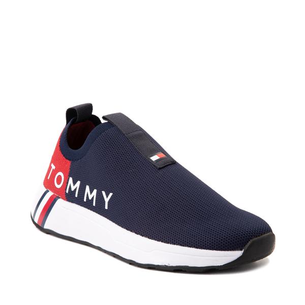 alternate view Womens Tommy Hilfiger Aliah Slip On Athletic Shoe - NavyALT5