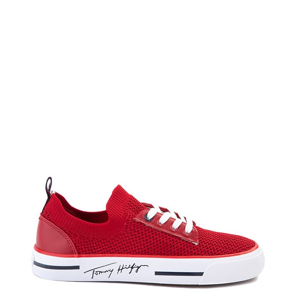 Main view of Womens Tommy Hilfiger Gessie Casual Shoe - Red