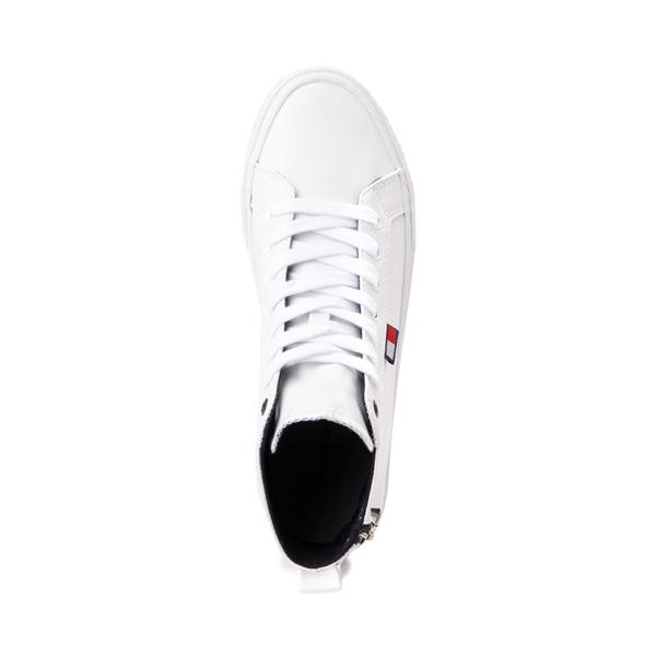 alternate view Womens Tommy Hilfiger Merigo Hi Sneaker - WhiteALT2