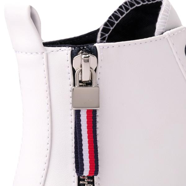 alternate view Womens Tommy Hilfiger Merigo Hi Sneaker - WhiteALT4B