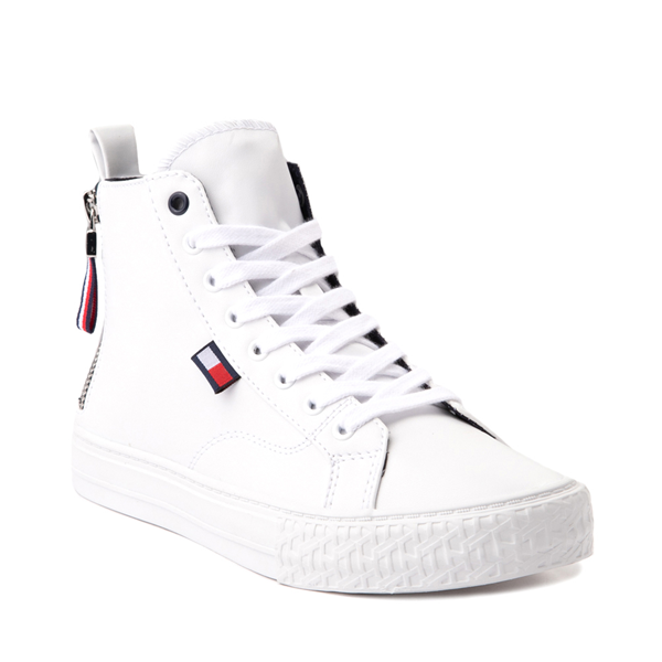 alternate view Womens Tommy Hilfiger Merigo Hi Sneaker - WhiteALT5