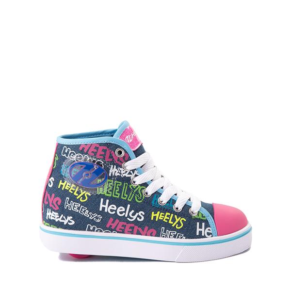 Heelys Veloz Skate Shoe - Little Kid / Big Kid - Denim / Multicolor