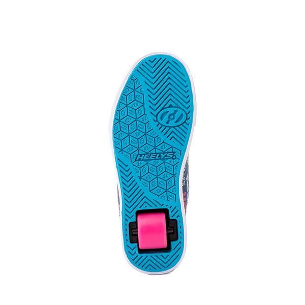 alternate view Heelys Veloz Skate Shoe - Little Kid / Big Kid - Denim / MulticolorALT3
