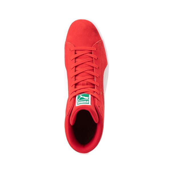 alternate view Puma Suede Mid XXI Athletic Shoe - High Risk RedALT2
