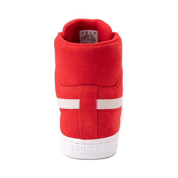 alternate view Puma Suede Mid XXI Athletic Shoe - High Risk RedALT4