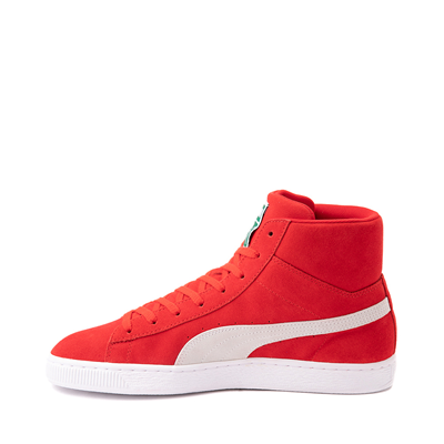 Alternate view of Puma Suede Mid XXI Athletic Shoe - High Risk Red