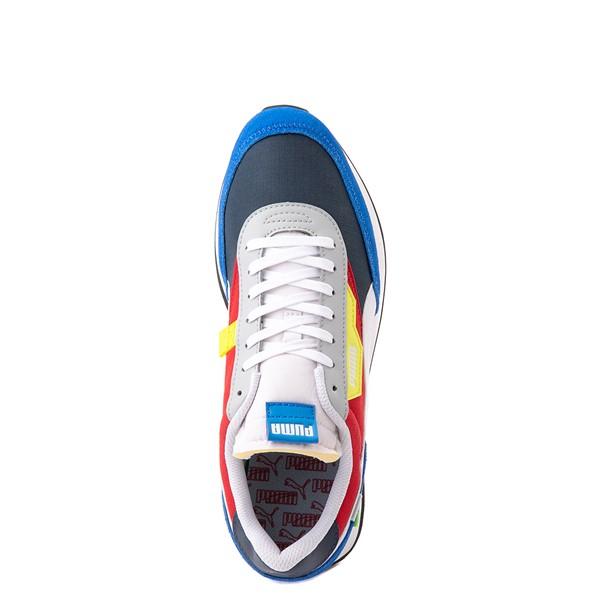 alternate view Mens Puma Future Rider Play On Athletic Shoe - Spellbound Blue / MulticolorALT2