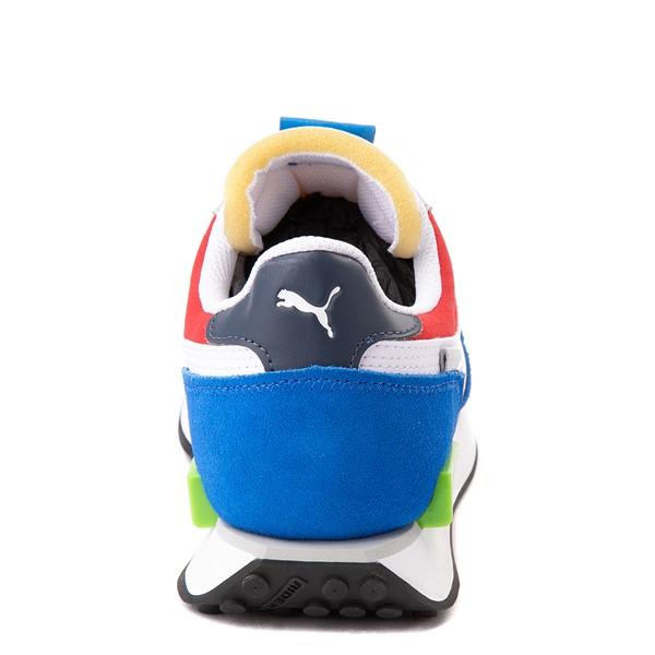 alternate view Mens Puma Future Rider Play On Athletic Shoe - Spellbound Blue / MulticolorALT4