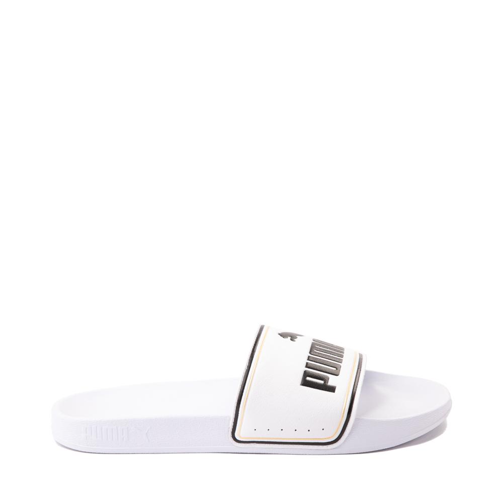 Puma Leadcat Slide Sandal - White