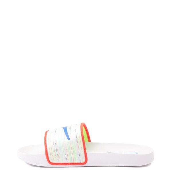 alternate view Puma Leadcat FTR Slide Sandal - Spectra White / MulticolorALT1B