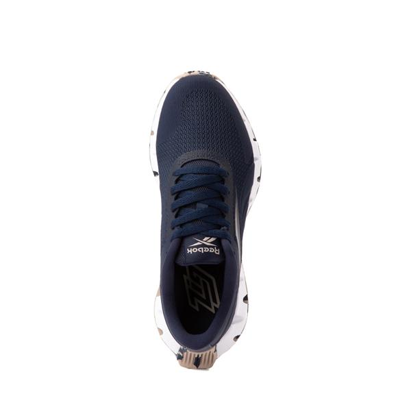 alternate view Reebok Zig Dynamica Athletic Shoe - Big Kid - NavyALT2
