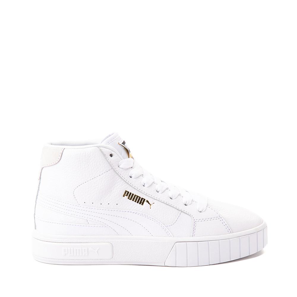 Womens Puma Cali Star Mid Athletic Shoe - White