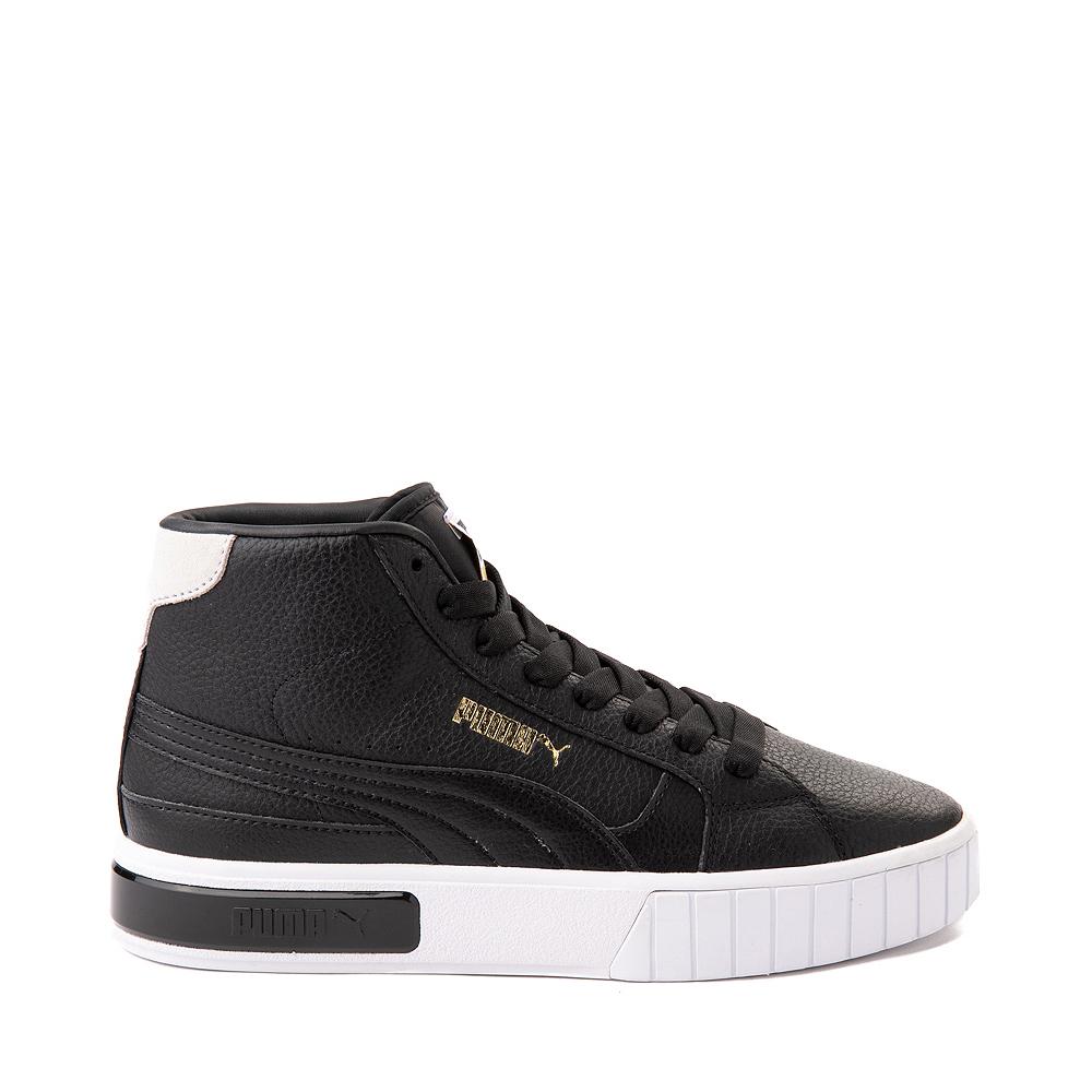 Womens Puma Cali Star Mid Athletic Shoe - Black