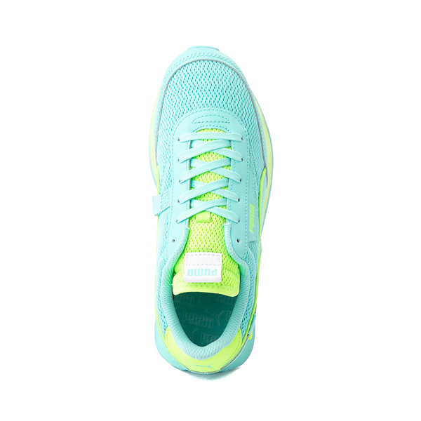 alternate view Womens Puma Future Rider Mono Pop Athletic Shoe - Elektro AquaALT2