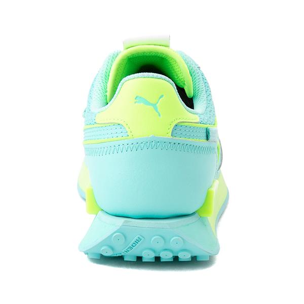 alternate view Womens Puma Future Rider Mono Pop Athletic Shoe - Elektro AquaALT4