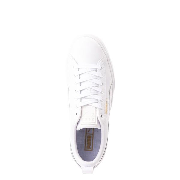alternate view Womens Puma Mayze Platform Athletic Shoe - WhiteALT2