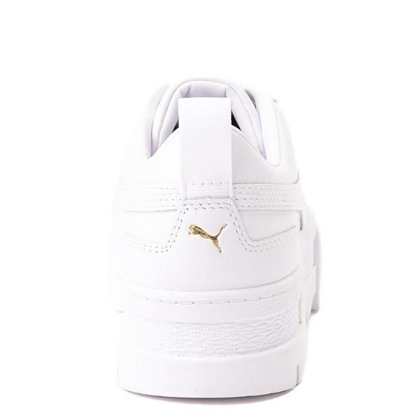 alternate view Womens Puma Mayze Platform Athletic Shoe - WhiteALT4