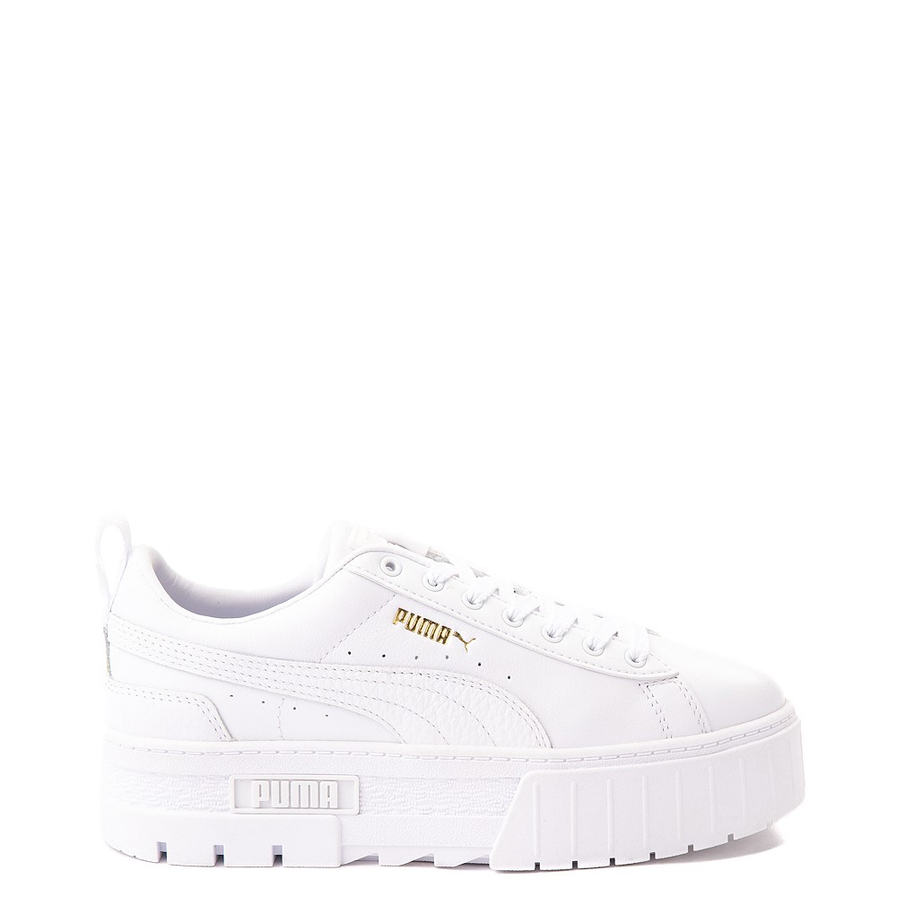 Womens Puma Mayze Platform Athletic Shoe - White