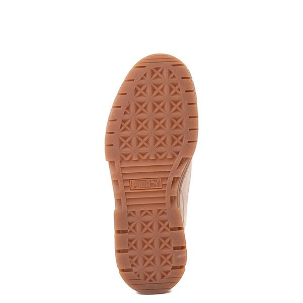alternate view Womens Puma Mayze Platform Athletic Shoe - Oatmeal / GumALT3