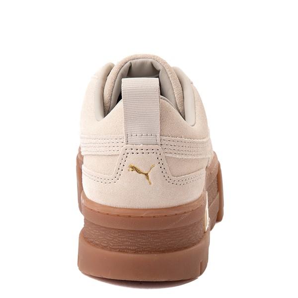 alternate view Womens Puma Mayze Platform Athletic Shoe - Oatmeal / GumALT4