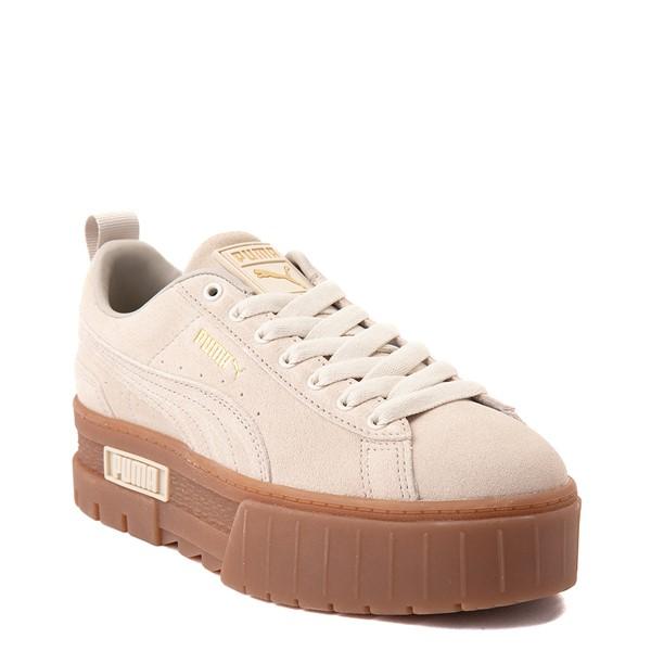 alternate view Womens Puma Mayze Platform Athletic Shoe - Oatmeal / GumALT5