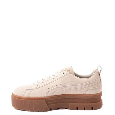 Alternate view of Womens Puma Mayze Platform Athletic Shoe - Oatmeal / Gum