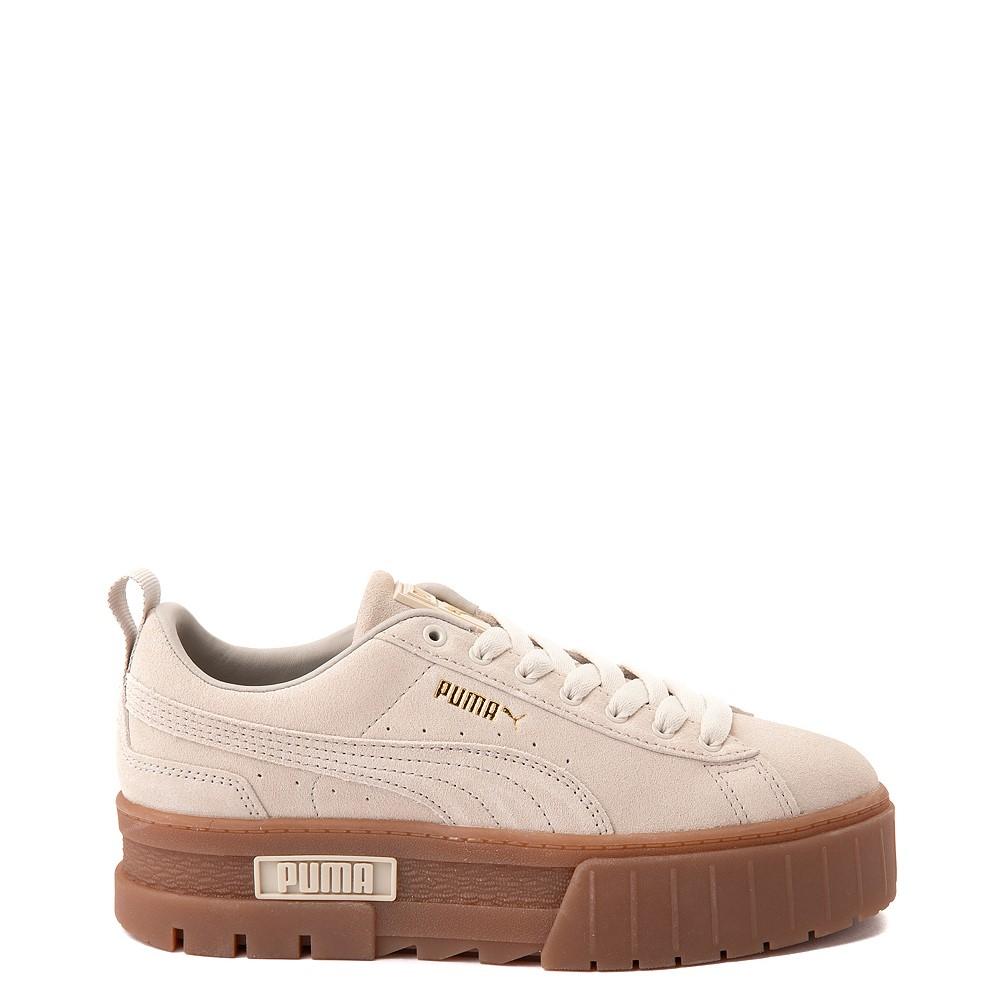 Womens Puma Mayze Platform Athletic Shoe - Oatmeal / Gum