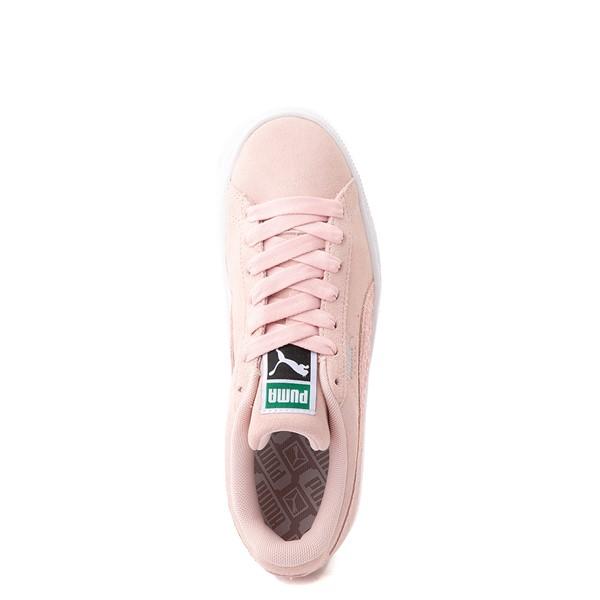 alternate view Womens Puma Suede Iridescent Athletic Shoe - LotusALT2