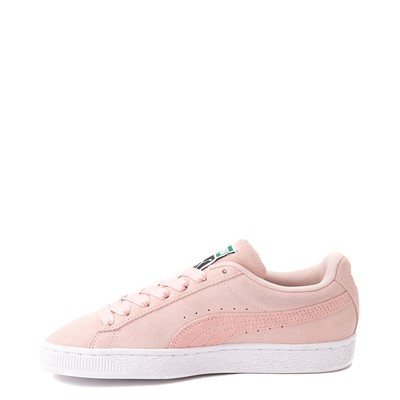 Alternate view of Womens Puma Suede Iridescent Athletic Shoe - Lotus