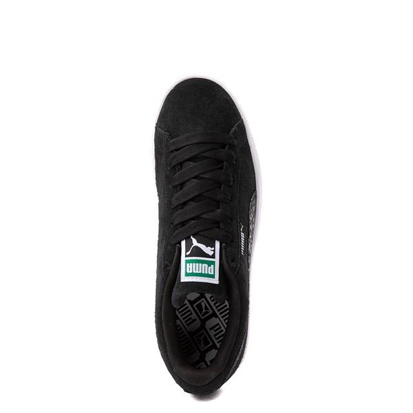 alternate view Womens Puma Suede Iridescent Athletic Shoe - BlackALT2