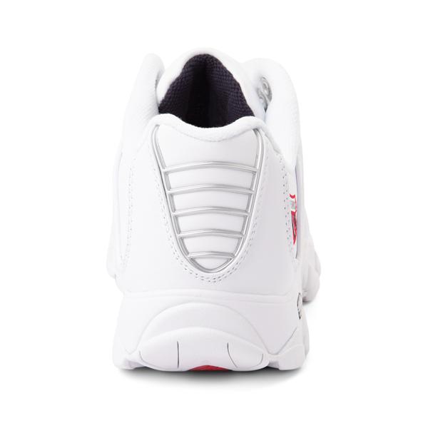 alternate view Mens K-Swiss ST329 Athletic Shoe - White / Navy / RedALT4