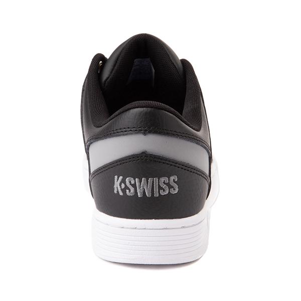 alternate view Mens K-Swiss Ramli Court - Black / Gray / WhiteALT4