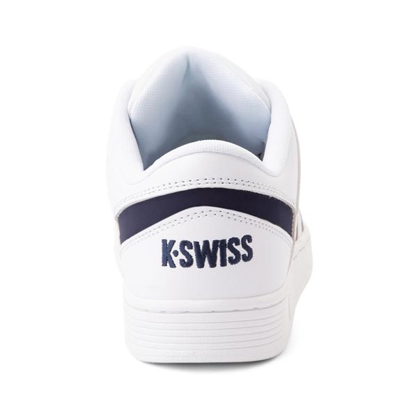 alternate view Mens K-Swiss Ramli Court - White / NavyALT4